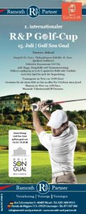1. internationaler R&P Golf-Cup // 15. Juli | Golf Son Gual, Mallorca